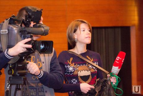 Информационный мир Югры. Ханты-Мансийск., телекамера, журналистка, телевидение