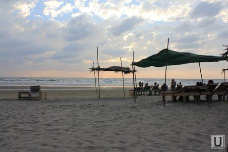 Клипарт. Индия. Гоа, море, пляж