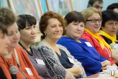 Встреча губернатора ХМАО с приемными семьями. Ханты-Мансийск., зрители, улыбки