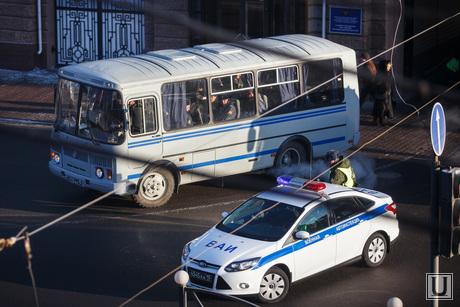 Автобусы с полковниками МЧС. Екатеринбург