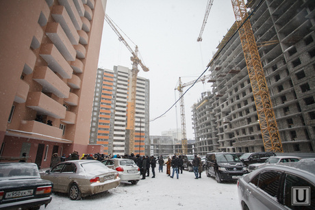 Объезд проблемных объектов строительства. Куйвашев и Хинштейн. Екатеринбург, стройка, проблемный дом