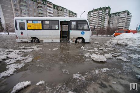 Коммунальная авария на Крестинского. Екатеринбург