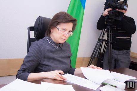 Комиссия по дорогам и образованию ХМАО. Ханты-Мансийск., комарова наталья