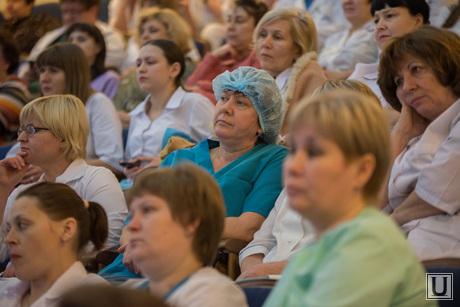 Визит Куйвашева в Научно-Исследовательский институт Охраны Материнства и Младенчества. Екатеринбург