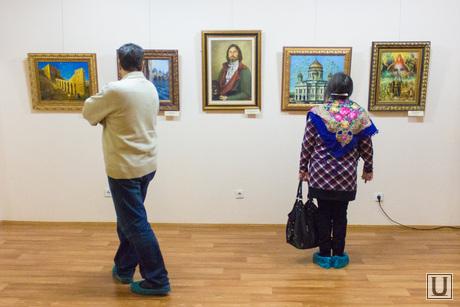 Выставка Никаса Сафронова. Ханты-Мансийск., картины, выставка, галерея