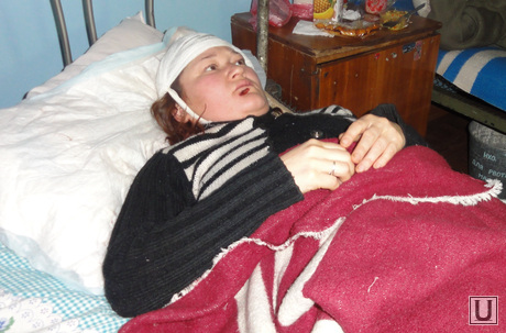 Девочка в Донбассе