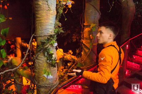 Обновленная стела. Экскурсия для СМИ. Ханты-Мансийск., экскурсия по выставке