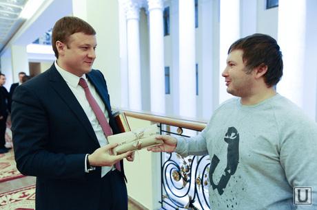 Подарки випам от ура.ру. Челябинск., леонов сергей, сандаков николай