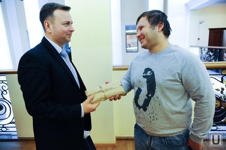 Подарки випам от ура.ру. Челябинск., леонов сергей, евдокимов вадим