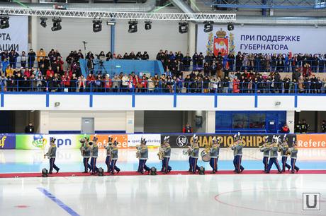 Чемпионат Европы по конькобежному спорту. Челябинск, оркестр
