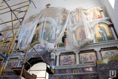 Богоявленский храм Курган, богоявленский храм, главный алтарь