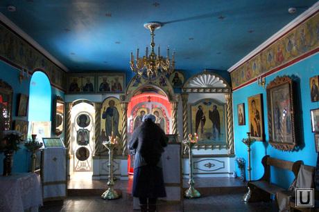 Богоявленский храм Курган, богоявленский храм, действующая часть