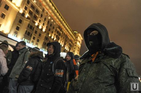 Сход в поддержку братьев Навальных на Манежной площади. Москва