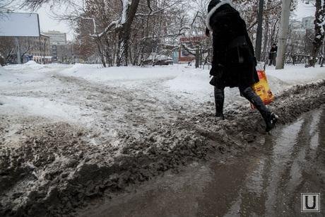 Грязь. Екатеринбург, грязь, грязный снег