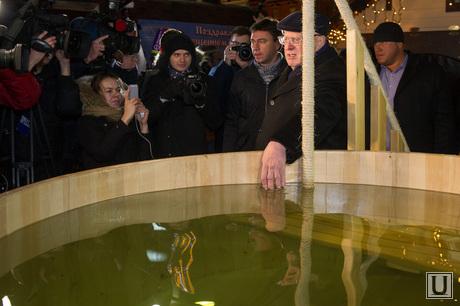 Крещенские купания в Москве. 18 января 2015г.