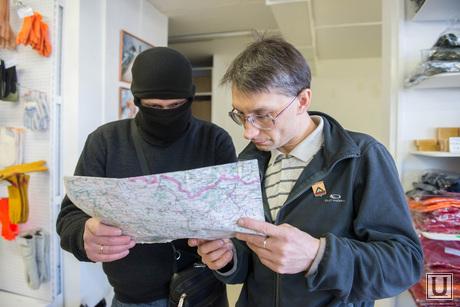 Одежда для уральских добровольцев в Новороссию. Екатеринбург