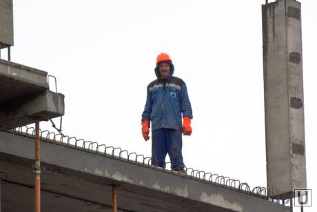 Стройка. Нижневартовск., рабочий, строитель, стройка