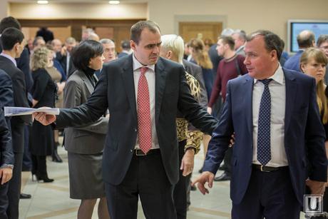 Встреча глав свердловских муниципалитетов с губернатором в областном правительстве. Екатеринбург, орлов алексей, мисюра андрей