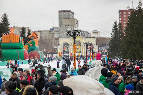 Масленица в Екатеринбурге