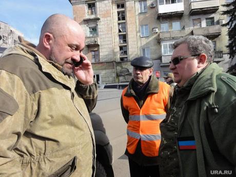 Мэр Донецка привез в Дебальцево уличный пылесос