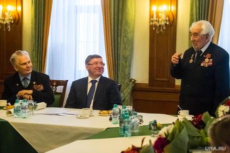 Ветераны войны, Якушев и медаль в честь 70-летия Победы. Тюмень