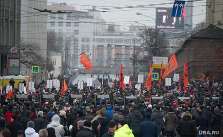 Траурное шествие памяти Бориса Немцова в Москве. 1 марта 2015г