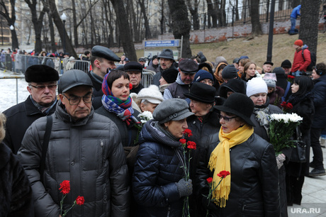 Гражданская панихида и похороны Бориса Немцова. Москва. 3 марта 2015г