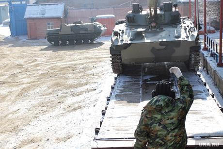 ОАО Курганмашзавод БМД-4 для десантных войск, оао курганмашзавод, погрузка военной техники