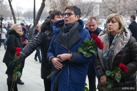Гражданская панихида и похороны Бориса Немцова. Москва. , хакамада ирина