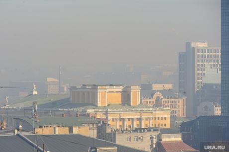 Экология. Выбросы. Дым. Челябинск., экология, воздух, смог, атмосфера