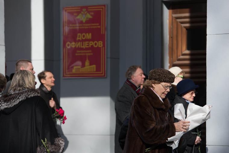 Похороны экс-прокурора Свердловской области Владислава Туйкова. Екатеринбург