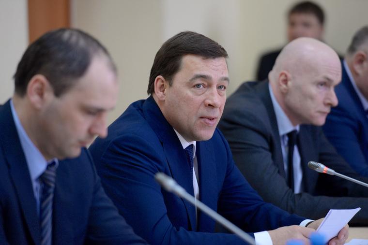 Визит губернатора в Ирбит, куйвашев евгений