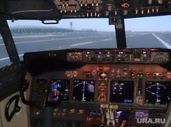 Флайдубай, полет бизнес-классом на самолете Боинг-737-800 в Дубай, ОАЭ. 4-7 мая 2014, кабина пилота