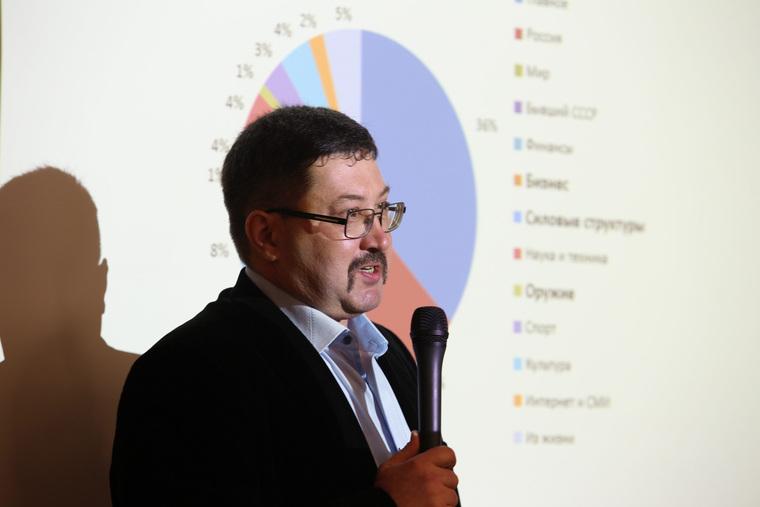 Лекция Александра Белоновского, в рамках проекта