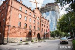 У американского консульства пусто. Екатеринбург, консульство сша украины