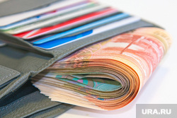 Клипарт. Пермь , кошелек, кредитки, рубли, денежные купюры, портмоне, деньги