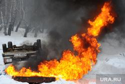 Учения МЧС с главами городов и районов. Челябинск., пожар, учения, огонь