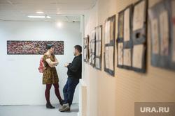 Выставка Ксении Кошурниковой в подвале
