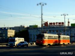 Клипарт. Екатеринбург, трамвай, проспект ленина, трамвайные пути