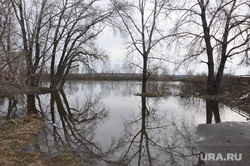 Паводок Курган 2014 год, река тобол