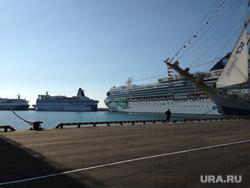 Олимпиада в Сочи, пристань, корабли, море