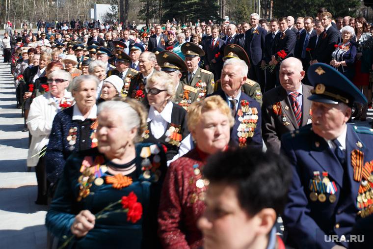 Открытие обновленного Широкореченского мемориала. Екатеринбург