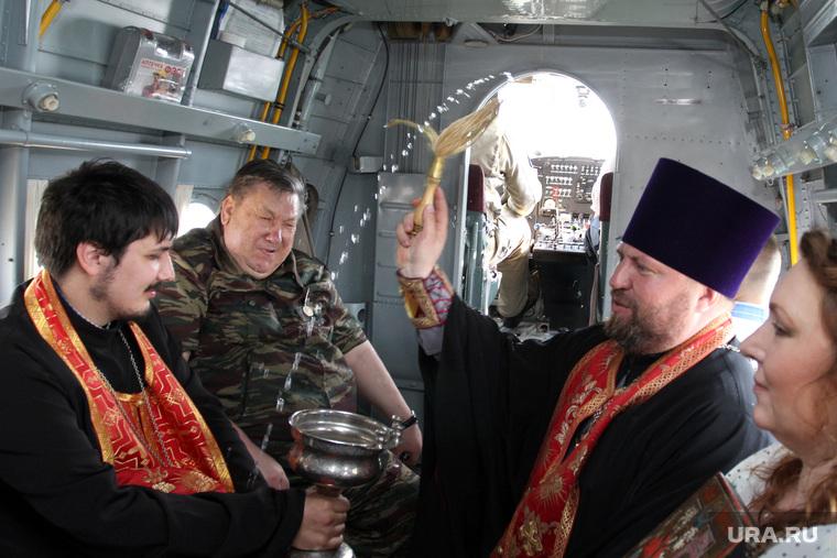 Праздник Георгия Победоносца Курган - Частоозерье, освящение в воздухе