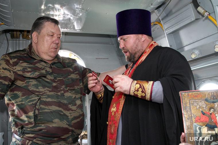 Праздник Георгия Победоносца Курган - Частоозерье, отец владимир, усманов, медаль георгия победоносца