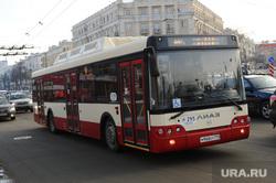 Автобусы. Челябинск., автобус, общественный транспорт