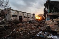 Завод пластмасс.  Тюмень, развалины, снос зданий, постапокалипсис, разруха