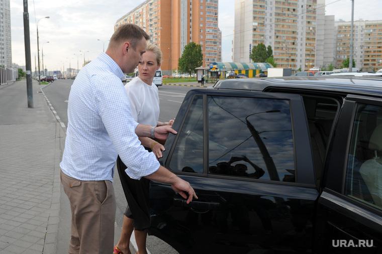 Навальный в Люблинском суде. Москва, навальный алексей, Навальная Юлия