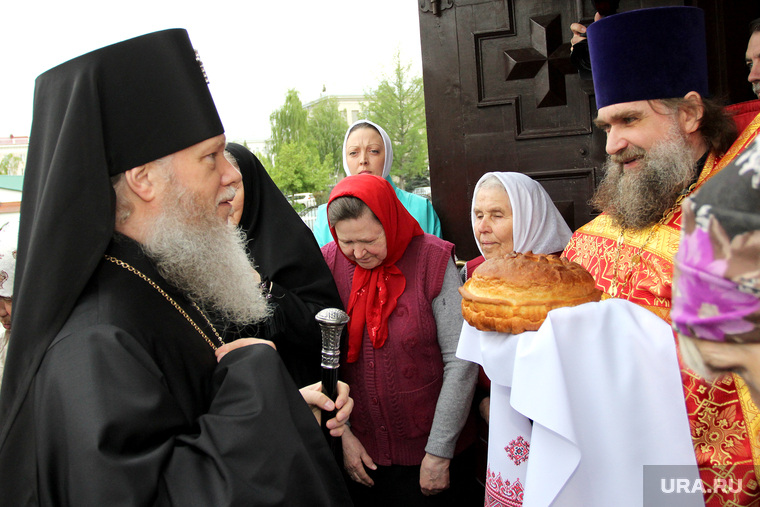 Новый Владыка Курган, хлеб-соль, епископ курганский и белозерский иосиф