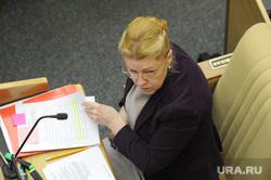 Пленарное заседание Государственной Думы РФ. 27 февраля 2015г., портрет, мизулина елена