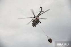 Пожарные учения в Сима-ленде. Екатеринбург, тушение, вертолет мчс